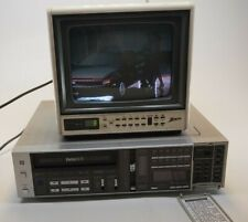 Sanyo Vintage Beta Hi-Fi Vcr7200 Betacord Tested, Working Condition