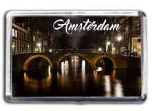 Amsterdam Famous City Fridge Magnet Collectable Design Holland Netherlands
