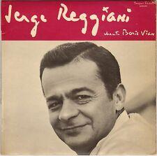 """SERGE REGGIANI """"CHANTE BORIS VIAN N° 2"""" 60'S EP"""