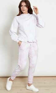 Influence Joggers & Jumper Set Size 10 Tracksuit Tie Dye White Jumper HO88