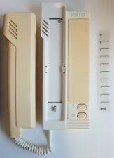 Ritto 6530.0 001.04 creme weiß Haustelefon Sprechanlage Gegensprechanlage