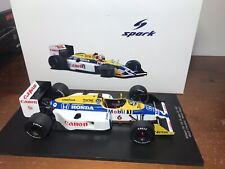1/18 SPARK WILLIAMS FW11B # 6 JAPANESE GP NELSON PIQUET 1987 WORLD CHAMPION