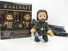 "LOTHAR w/ Clothing & Sword Warcraft Vinyl Figure Mystery Minis 3"" tall"