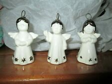 Vintage Goebel Porcelain Angels (3) *labeled W. Germany
