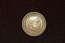 Spain Una Peseta Coin, 1947(52)