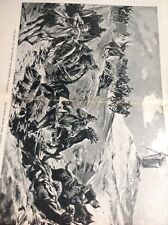 R3 R4 1918 Book Plate 2 Pages Folded German War Machine In Poland