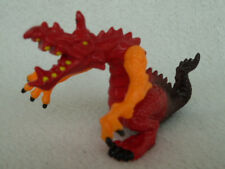Chap Mei Toy Small Red Plastic Dragon Action Figure Movable Arms Fantasy 1995