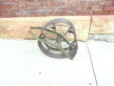 vintage john deere planter wire marker winder reel dented yard garden decor