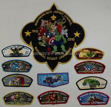 Northern New Jersey Council 2010 National Jamboree JSP Set Mint Cond FREE SHIP