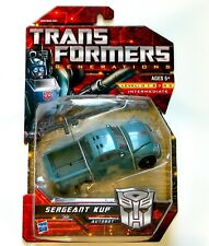 Transformers Generations Sergeant Kup - Deluxe Class - MISB, New, Sealed!