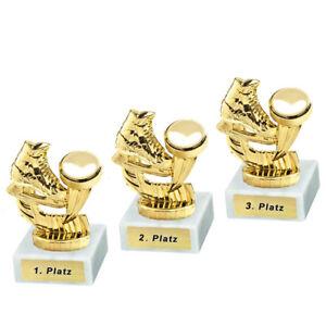 3 Eishockey-Pokale mit 1.2.und 3.Platz oder Wunschgravur (P0153)