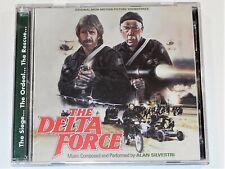 Alan Silvestri DELTA FORCE Chuck Norris Lee Marvin Soundtrack Quartet 2 CD Set