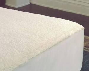 Ultra Soft Fleece Underblanket | Mattress Underlay Mattress Topper Single Double