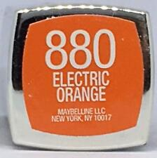 Maybelline Color Sensational Lipstick 880 Electric Orange