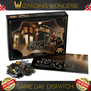 Fantastic Beasts 500 Piece Jigsaw Puzzle Harry Potter Official Gift UK