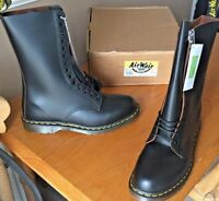 Dr Martens 1914 black leather boots UK 12 EU 47 Made in England