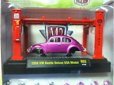 M2 Machines Model Kit 1956 VW Beetle Deluxe USA Model