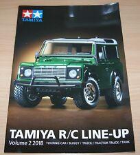 Tamiya 64416 R/C Line-Up Volume 2 2018 (English/RC), NEW