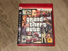 Grand Theft Auto IV 4 PlayStation 3 PS3 Complete CIB w/Map Authentic