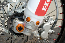 GECO VITI FISSAGGIO PARASTELI ERGAL ARANCIONE KTM EXC EXCF 2011 2012 2013 2014