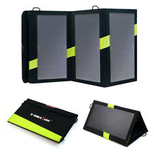 3days OFFER 16w Solar Panel Power Bank Dual USB Battery Charger for iPhone Glaxy