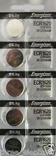 5 New ENERGIZER CR1620 Lithium 3v Coin Battery Australia Stock FAST SHIPPING