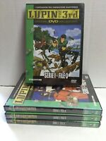 Set 4 DVD LUPIN the 3rd SERIE 1 FILE 3-4-5-6 SIGILLATI Pal 2