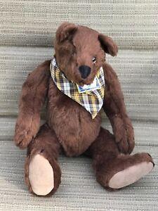 "North American Bear CO B'RER VINTAGE 1994 Plush Bear 15"" TALL New NWT"