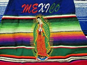 Mexican Virgen of the Guadalupe Virgin Mary Adult Sarape Apron
