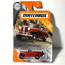 MATCHBOX 1948 WILLYS JEEPSTER RED