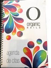 Organic Nails Agenda de Colores / Appointment Book