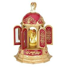Mr. Christmas Angel Carillon Carousel Holiday RED GOLD 30 Songs Music Box 2006