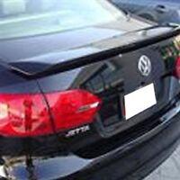 PRE-PAINTED FOR VW JETTA 2011-2018 CUSTOM 2-POST SPOILER W//LED LIGHT ANY COLOR