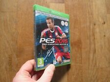 JEU VIDEO XBOX ONE pes 2015 pro evolution soccer  NEUF SOUS FILM