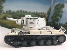 KV-2 Russian USSR Army Soviet winter camouflage 1:72 finished Easy Model NICE!!!