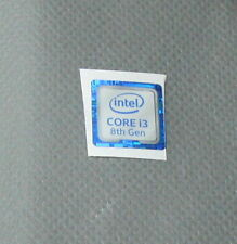 INTEL Sticker Core i3 8th Gen Aufkleber 8. Generation
