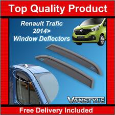 Renault Trafic 2014+ Frontal Original Climair Viento desviadores de calidad superior Tinte van