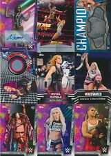 2018 Topps WWE Women's Division BASE/AUTO/RELIC/INSERTS/RC Pick from List