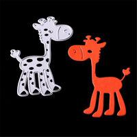 Cute Giraffe Metal Cutting Dies Stencil For Scrapbooking DIY Album Cards Decor /