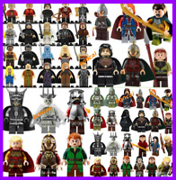Lego Minifigures Lord of the Rings Game of Thrones archer balin bard aragorn jon