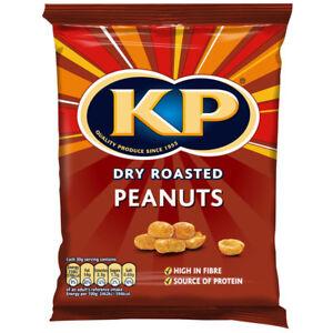 KP Dry Roasted Peanuts 50g x 21