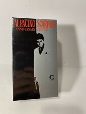 Al Pacino Scarface (VHS, 2003, Anniversary Edition) 2-Tape Sealed Set