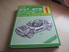 VW Golf & Jetta Mar 1984 to Feb 1992 (golf ) Jul 1984 to 1992 Jetta,ONE OWNER