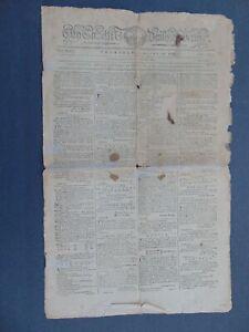 c.1795 - CHARLESTON CITY GAZETTE - SLAVERY - RUNAWAY SLAVES - SLAVES FOR SALE