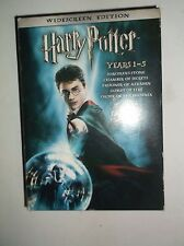 Harry Potter Years 1-5 (DVD, 2008, 5-Disc Set) Daniel Radcliffe, Emma Watson