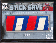 2010-11 ITG STICK SAVE PATRICK ROY BETWEEN THE PIPES GAME USED STICK 1/24 SILVER