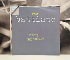 FRANCO BATTIATO 1972 FETUS / POLLUTION LP EX-/EX RISTAMPA ORIZZONTE 1979 ORL8127