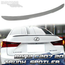 Unpainted For LEXUS IS200t IS250 Sedan L Type Trunk Boot Lip Spoiler 14-17