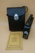 Cine-Kodak 8, Anleitung und orig. Kodak LedertascheHeim-Filmkamera (1933-1946)
