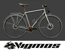 Velo Titan Wood madera MTB Titanium bike Rohloff tewntyniner Pinion naturaleza bio
